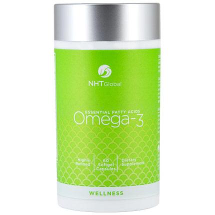 Omega-3 Essential Fatty Acids, 60 Softgels, NHT Global